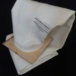 Worek filtracyjny Poliester PES), mocowanie w płycie sitowej (snapring)